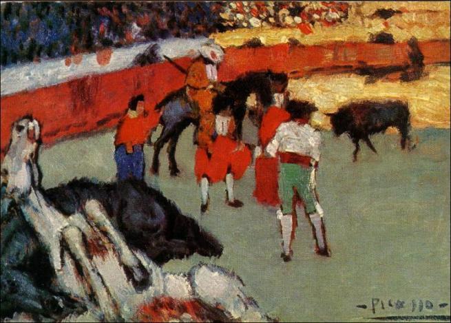 Corrida de Toros. Picasso